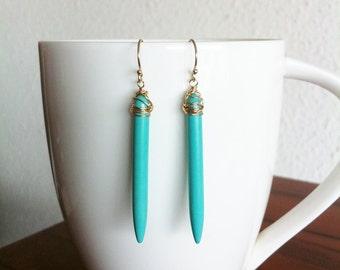 Turquoise sticks