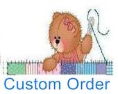 Custom Order for Shelly Meyer