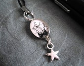 Caravel- cell phone charm
