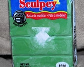 Sculpey III- Moss-Polymer Clay-Brand New