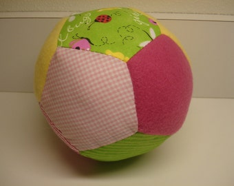 Butterfly and Floral Fabric Ball