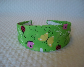 Lady Bug and Butterfly Headband