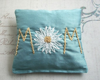 Lavender Sachet Hand Embroidered by Dolce Dreams