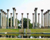 National Capitol Columns I  - 8x10 Fine Art Photograph