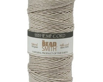 2mm Hemp Twine Bead Cord 197 Feet NATURAL 42673