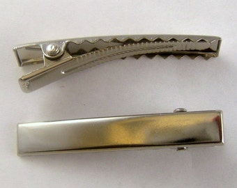 Alligator Hair Clip Flat Top 1 3/4 Inch 45mm (50) 21017