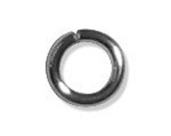 5mm Open Jump Rings Sterling Silver 18 gauge (25) 36014