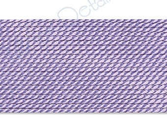 Griffin Silk Cord Thread Size No 6 LILAC (2) 42533