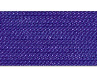 Griffin Silk Cord Thread Size No 6 DARK BLUE (2) 42532
