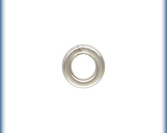 50 - 4mm Sterling Silver Closed Jump Rings 19g 36004-50