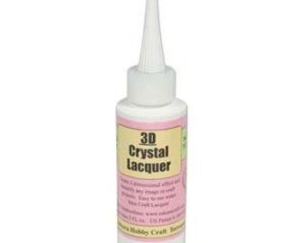 3D Crystal Lacquer Glaze 45111