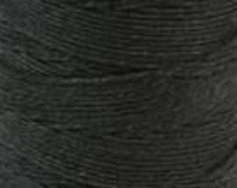 Waxed Irish Linen Thread Cord Bookbinding 10 Yards Four Ply 4 Ply CHARCOAL GREY 420004