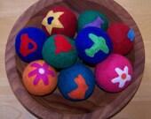 RESERVED for  SDEVONH- 2 Felted Balls