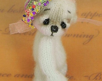 Thread Knit Bear EPATTERN, new and easy.