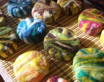 Felted Soap (soap in a sweater)
