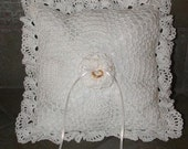 Crochet Pattern-Crochet Ring Bearer Pillow