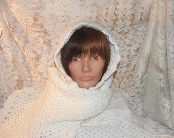 Crochet Pattern-Scarf Hat