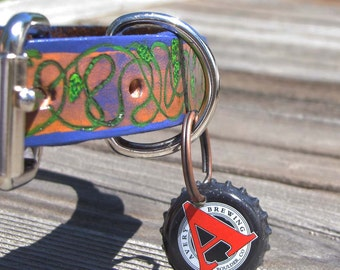 Beer Bottle Cap Dog/Pet Tag