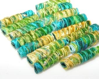 Fiber Bead Set mini  If we weren't born fiber beads then we would still want to BE fiber beads.