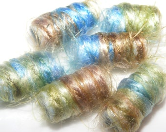 People become famous overnight in business. Why not beads? Fiber Beads, artisan jewelry bead, dread hair tube bead, dreadlock decoration
