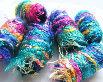 Fiber bead, big hole bead, bhb, large hole bead, macrame bead, dreads, jewelry component, scarf slide