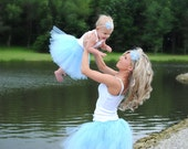 Mommy and Me matching tutus and heabdands You pick the color/colors