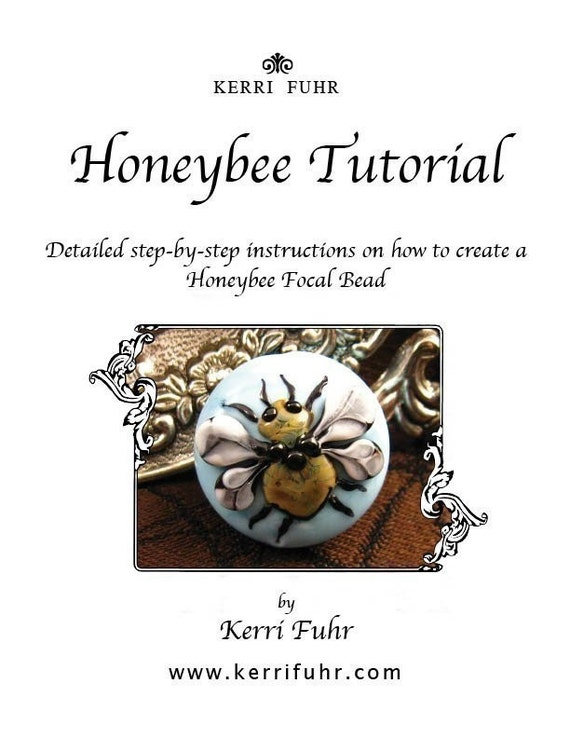 Kerribeads Lampwork - Honeybee Focal Bead Tutorial
