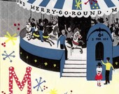 M is for Merry Go Round