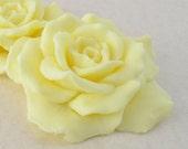 Single Beautiful Decorative Yellow Rose Soap