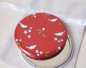 Oriental Red - Pocket Mirror