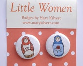 Little Women badges