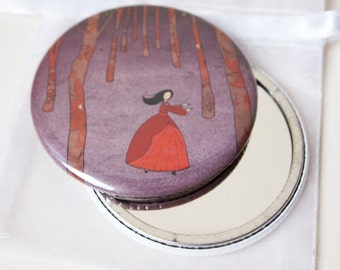 Lost in the Wood - Pocket Mirror