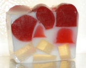 Cherry Bon Bon - handmade soap by City Soaps