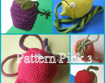 PDF Pattern 3 Pack - You Pick Your Purses
