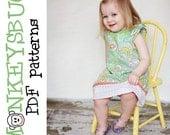 Boardwalk Flutter Sleeve Dress PDF eBook Pattern INSTANT DOWNLOAD