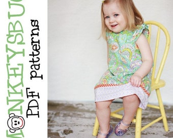 Boardwalk Flutter Sleeve Dress PDF eBook Pattern INSTANT DOWNLOAD