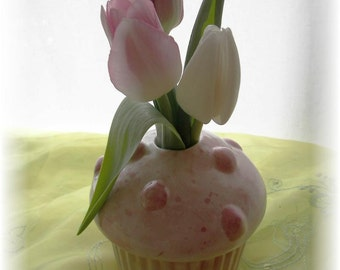 Cupcake Bud Vase Pencil Holder Teacher Gift Birthday Gift In Stock