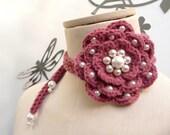 FULL BLOOM - necklace/lariat
