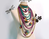 LOOPY LOOP - necklace/loop scarflette