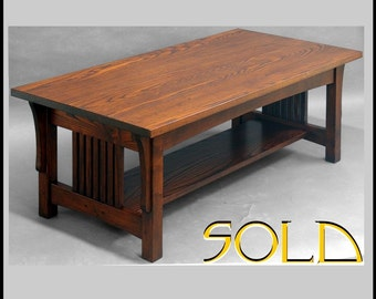 Mission, Arts and Crafts, COFFEE TABLE,  ASH
