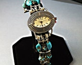 Custom Order Turquoise Watch for kbr765