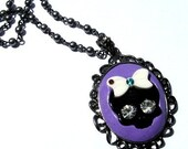 Skully Cameo Necklace
