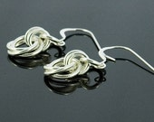 Mobius Flowers - Chain Maille Earrings