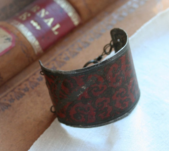 ON SALE - Vieux Carré - Old French Quarter gypsy Cuff Bracelet