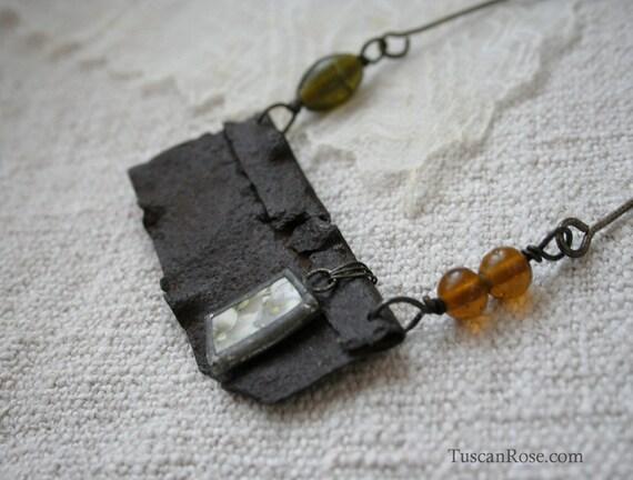 ON SALE - Necklace 114a - urban gypsy jewelry