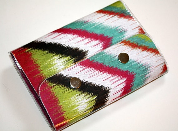 SALE Passport Case - Mondovi Ikat