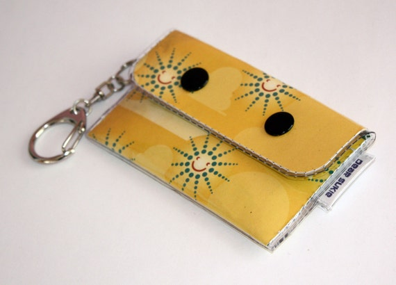 Sale Id And Card Case Keychain Wake Up By Dearsukie On Etsy
