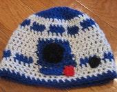 R2D2 Beanie Droid Beanie R2D2 Hat Star Wars Beanie