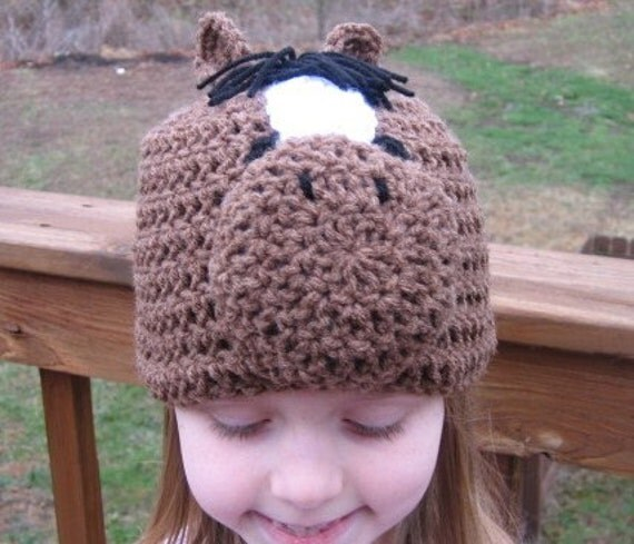 Horse Fan Kentucky Derby Beanie Skullcap Hat--cute photo prop
