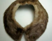 Vintage Fur Collar - Peter-Pan Style